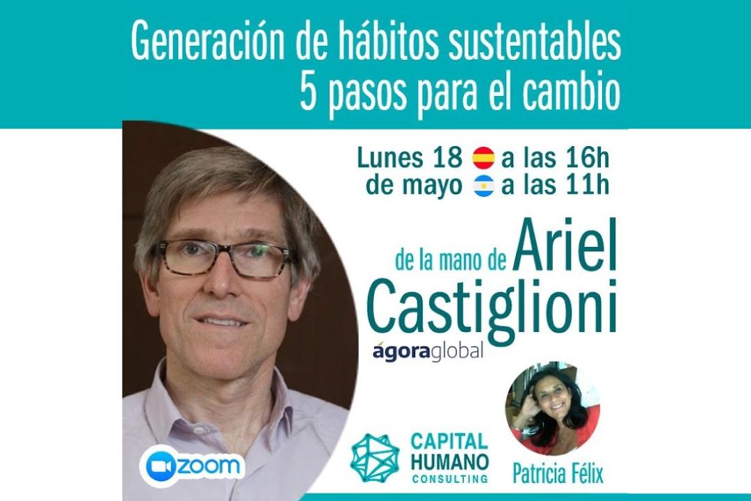 Webinar Generación de hábitos sustentables – 5 pasos para el cambio